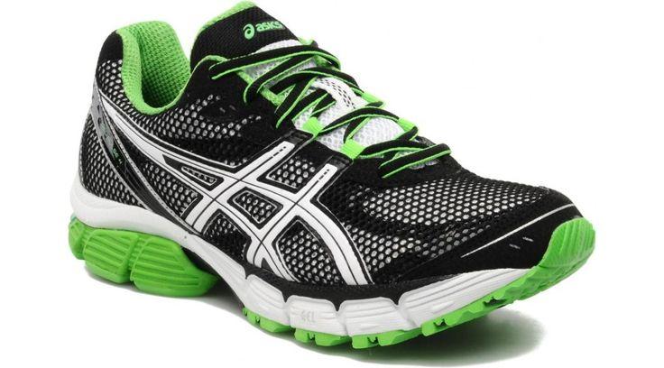 Asics Gel-Pulse 4 futócipő fekete,fehér,neon zöld