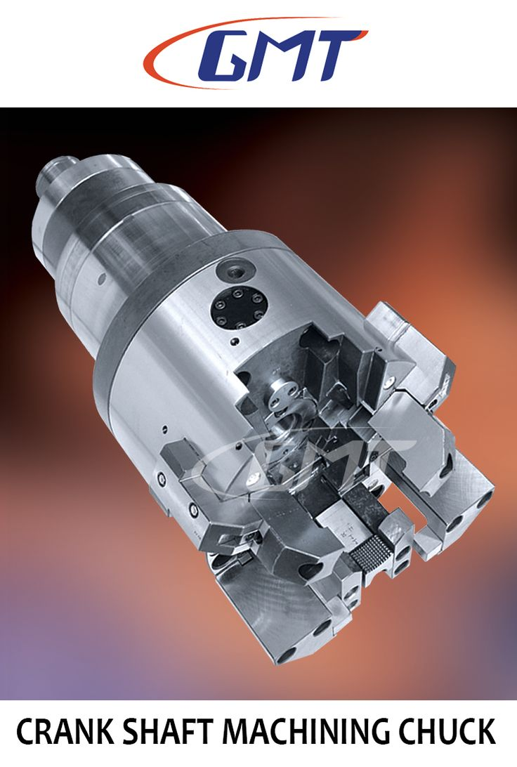 This chuck is designed for pin milling of crank shaft journal Typical arrangement of this chuck in crankshaft journal milling machine