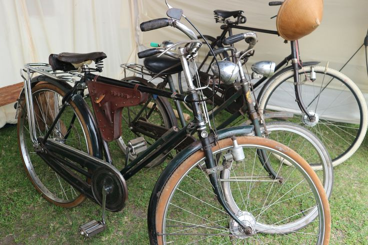 Indonesian old-fashioned bicycles.