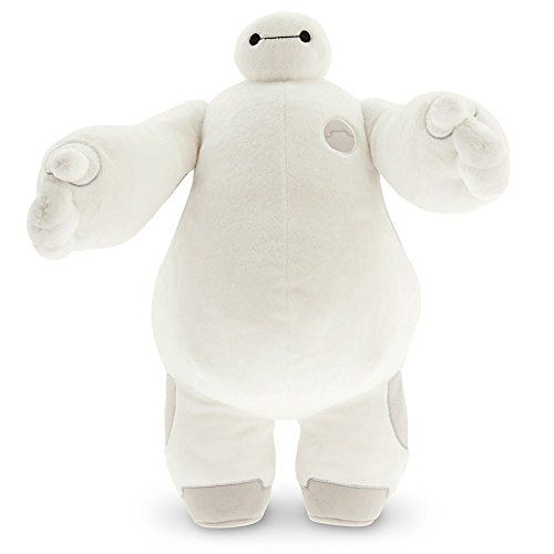 Disney Store Baymax White 15 Plush Toy Big Hero 6 Healthcare Companion Robot * See this great product-affiliate link-affiliate link.