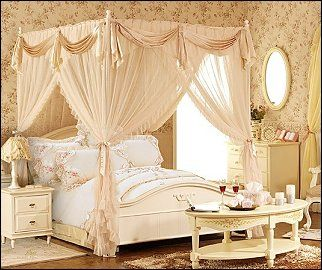 Victorian/Lace-Princess-Bed-Canopies-canopy_Netting-floral_vintage_bedding