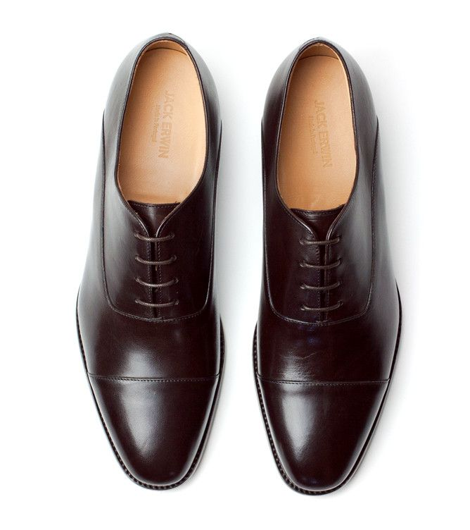 Joe Cap-Toe Oxford - Jack Erwin -- I own in both black and brown. Best dress shoes ever.