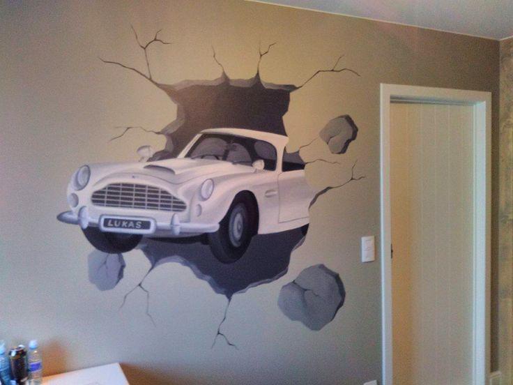 73 best muurschilderingen kinderkamers van eigen ontwerp images on pinterest kids rooms - Ontwerp muurschildering ...