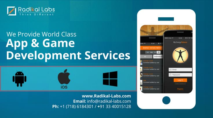 Build your dream App with Radikal Labs... We convert great ideas to Brilliant Solutions.  Contact us today - http://bit.ly/1CgzG4O