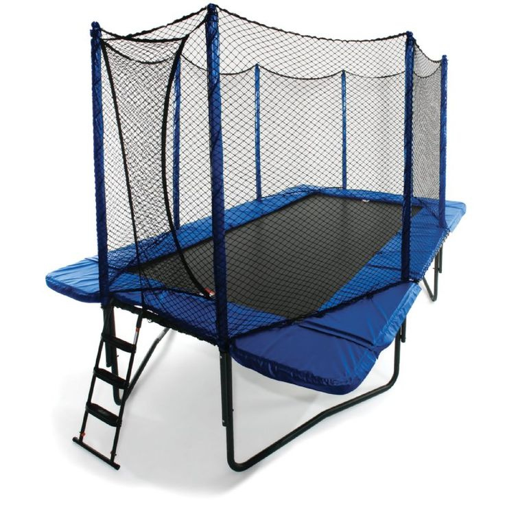 Propel 14 Trampoline With Fun Ring Enclosure: 1000+ Ideas About Rectangle Trampoline On Pinterest