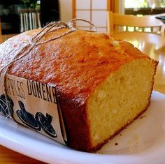 Un bocado de esto sería estupendo: Pan de coco.