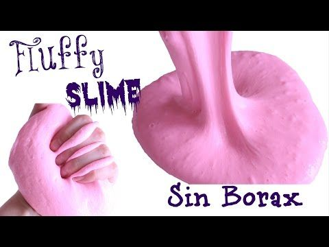 Como hacer FLUFFY SLIME SIN BORAX Marshmallow Slime - YouTube