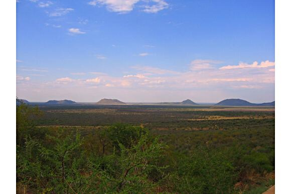 On a clear day, you can see forever at Madikwe Game Reserve