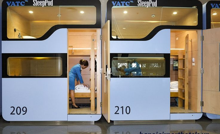 "Travelers at Bangkok's Suvarnabhumi Airport and Hanoi's Noi Bai International Airport can now sleep away their transits or flight delays in comfortable sleep pods. This follows the earlier introduction of ""sleeping boxes"" at Bangkok's Don Mueang International Airport Terminal 2."