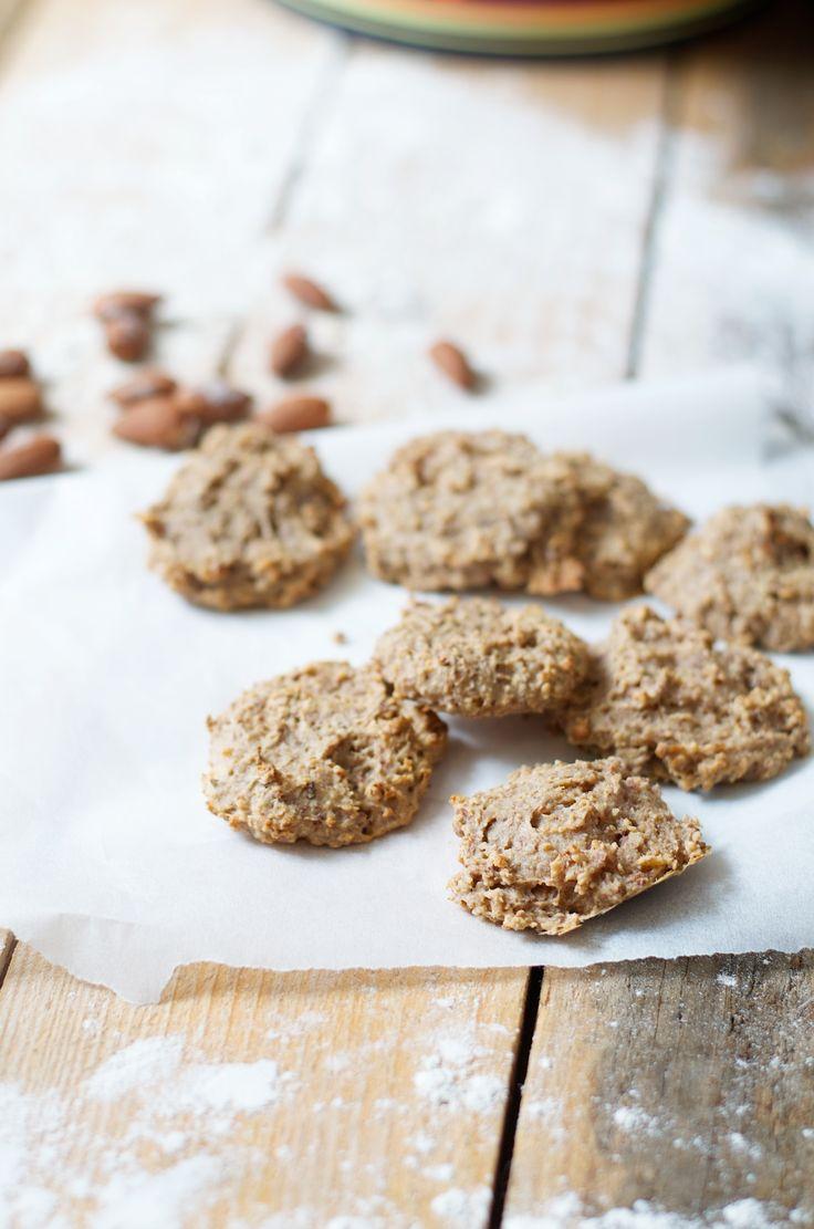 gezonde koekjes, healthy koekjes, vega koekjes, twee ingrediënten koekjes, gezonde koekjes recept