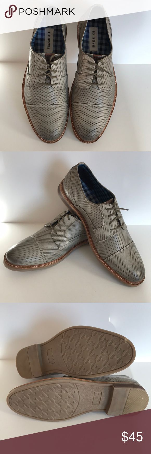 Ben Sherman dress lace ups Ben Sherman dress lace ups. Width medium, size 9.5. Color Luke Grey. Worn once still in original box. Ben Sherman Shoes Oxfords & Derbys