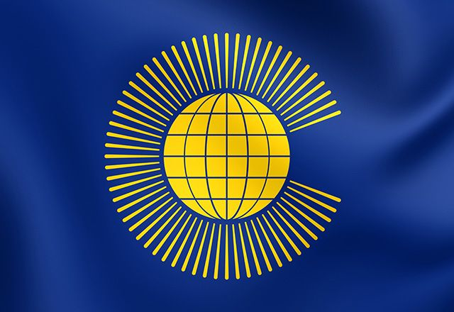 An association of 53 nations united by ties to former British rule, the Commonwealth of Nations is a group aligned to create ongoing prosperity in these countries.