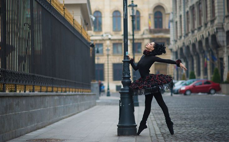 Urban Swan: I Photographed A Ballerina In The Streets Of Romania | Bored Panda