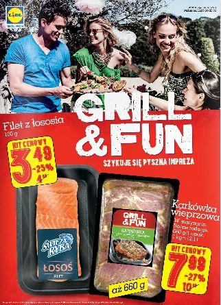 Jak grill, to tylko z Lidlem! http://www.promocyjni.pl/gazetki/16818-grill-fun-gazetka-promocyjna