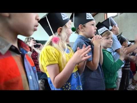 Afscheidsliedje kleuterschool - YouTube