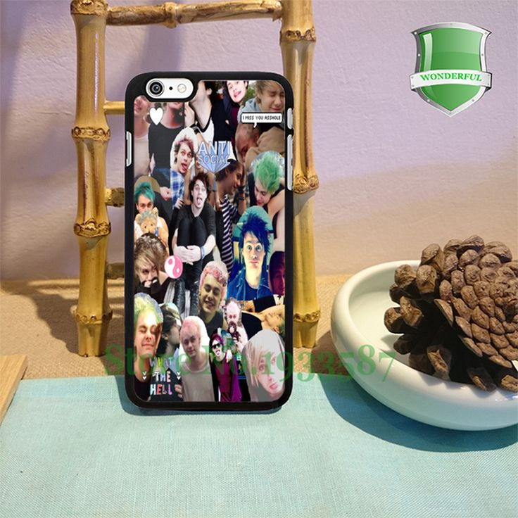 Майкл клиффорд коллаж Моды Сотовый Телефон Случаях Для Iphone 6 s 6 sPlus 6 6 Плюс 5 5S 5c 4 4S T * 1484