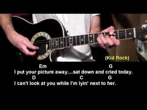 Picture – Kid Rock – How To Play – Best Beginner Guitar Lessons. You can see hundreds of free beginner guitar lessons at http://www.bestbeginnerguitarlessons.com