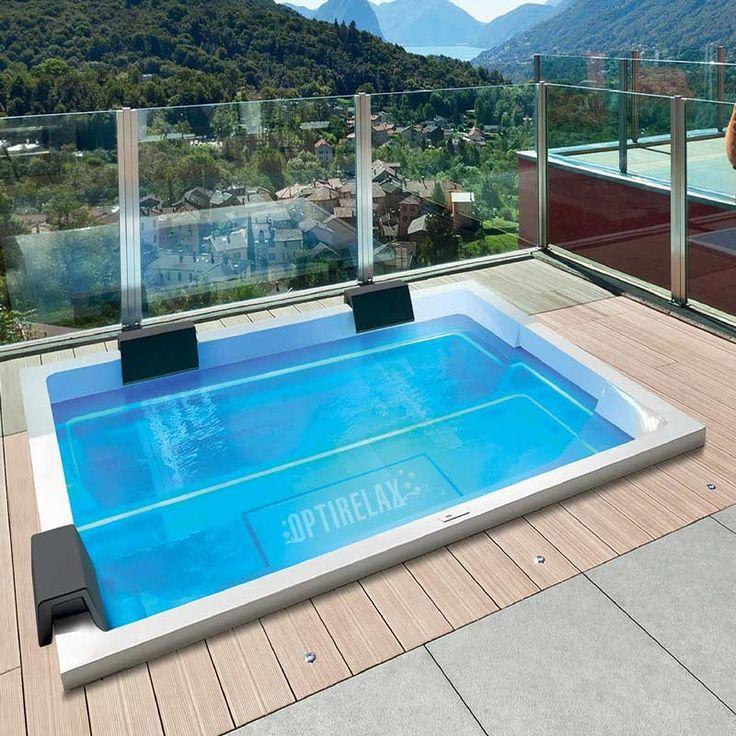 Die besten 25+ Whirlpool für draußen Ideen auf Pinterest Poolbau - whirlpool im wohnzimmer