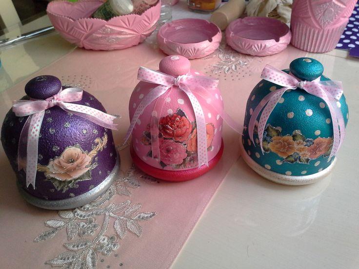 hediyelik el boyaması cici şekerlikler | Hobinisat