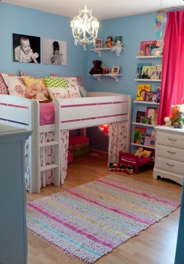 Cute little girls room <3