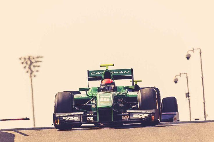 On track in Abu Dhabi