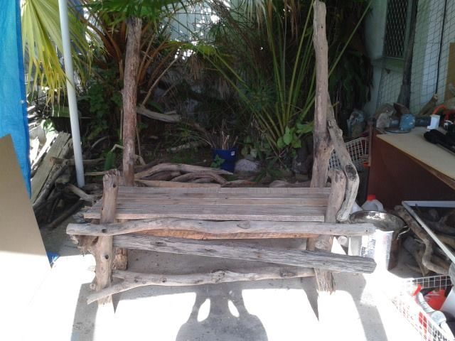 The Hippy Chippy is in the mood for some craft. Another driftwood bench is in the making..... Check out the page to see more creations https://www.facebook.com/TheHippyChippy?ref=hl Stay happy and be creative.