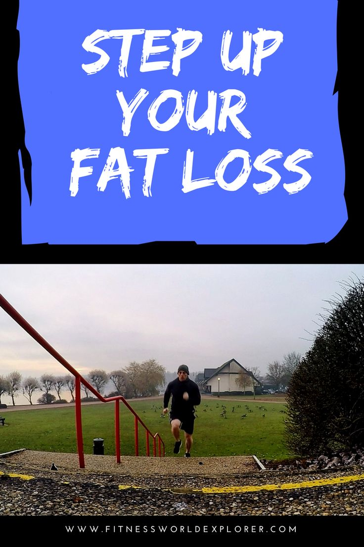 Expert fitness tips on how to burn fat and improve cardio fitness with step running