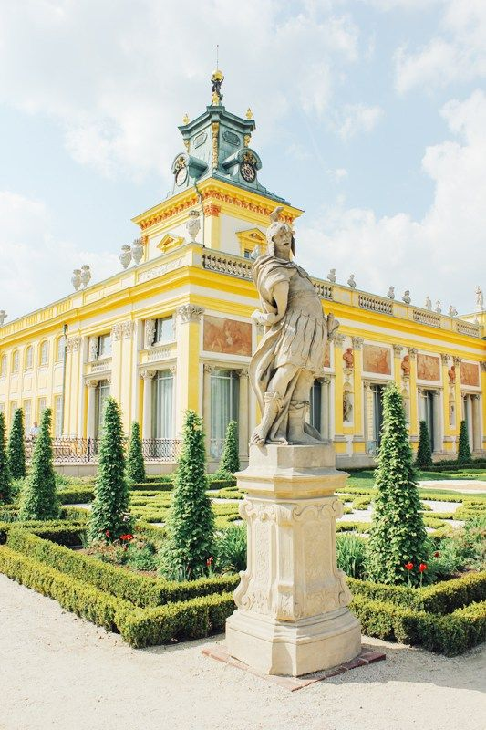 Travel to Warsaw, Poland | Wilanow Palace