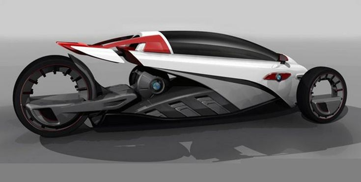 BMW i1 electric trike-car 2
