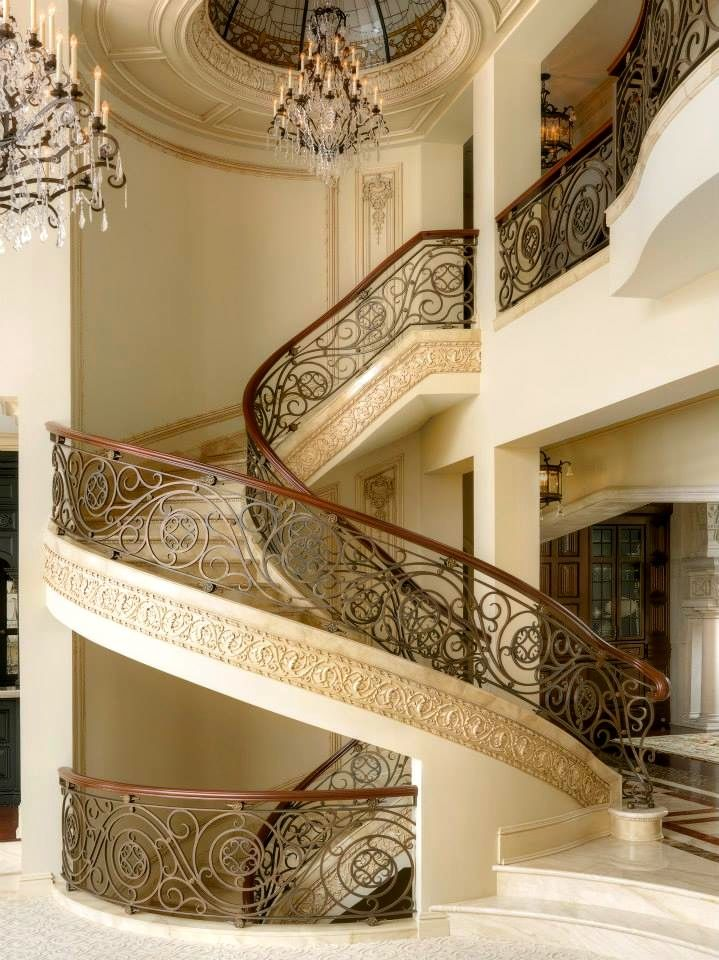 184 best Grand Staircase images on Pinterest Stairs Grand