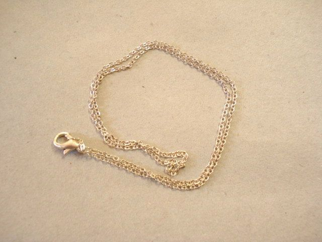 10sets Antiqued Silver Tone Chain 410x1.5mm C72 by yooounique on Etsy