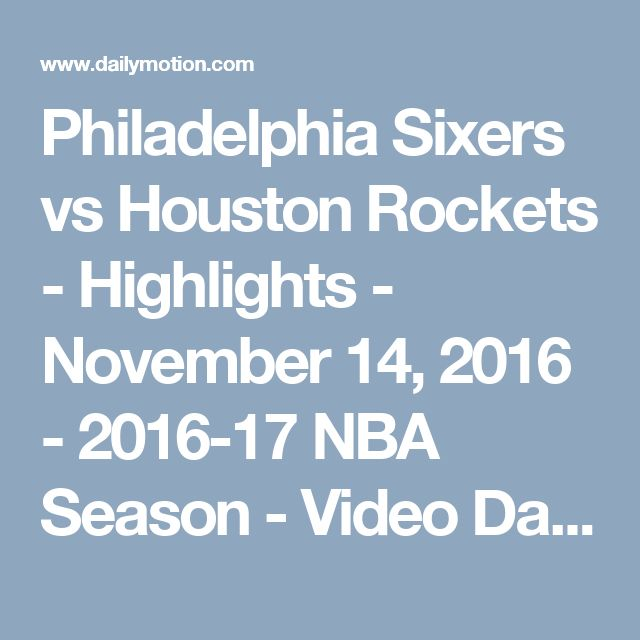 76ers vs rockets - photo #31