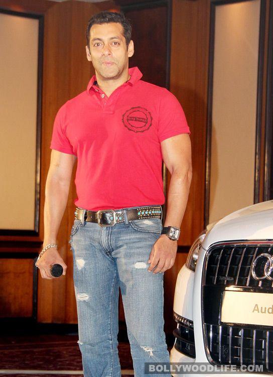 Salman Khan in Ek Tha Tiger look!