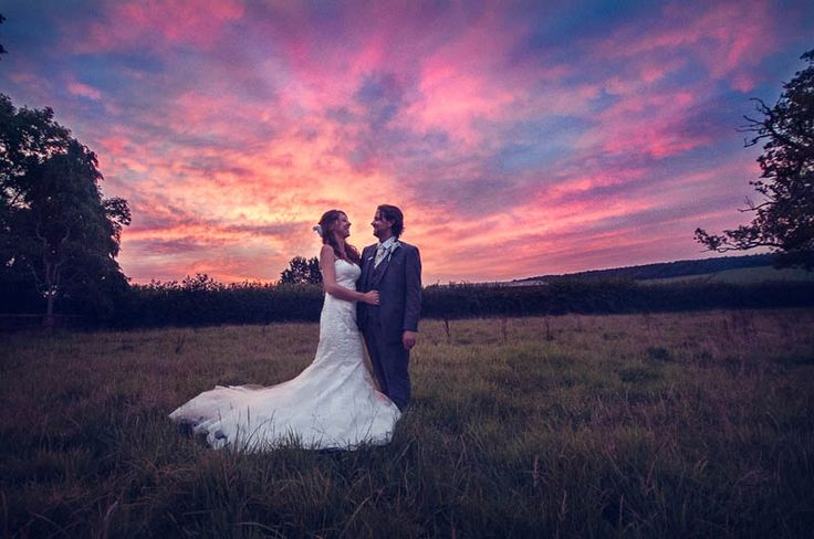 View pictures from Becky & Chris' stunningly beautiful chic wedding here at Stockbridge Farm Barn near Sherborne in Dorset.