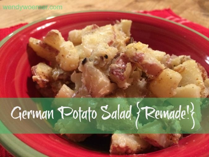 Add this German Potato Salad {Remade} to your repertoire of menu items to thrill yourself with its ease of use, and to wow your family and friends with its delicious flavor!