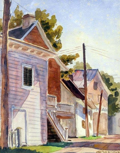 "Jean Paul Lemieux:  ""Rue de Village"""