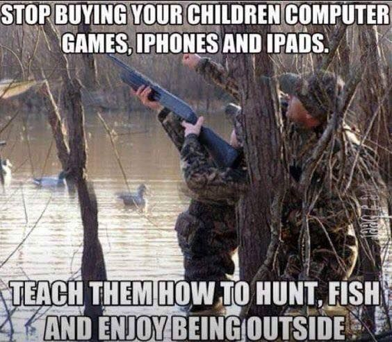 I'd say they can get iPads and whatnot. Where else would they buy fishing and hunting supplies if not online??😜🤔🤔 This technology has its ups for sure! 😂😂😜Like and share this with your friends! 😊🐟🎣 #fishingplace #fishing #fishermen #weekend #fishingplacecom #kids #technology #ipad #smartphone #online #purchase #buy #supplies #fishing #flyfishing #fishinglife #fishingtrip #fishingboat #troutfishing #sportfishing #fishingislife #fishingpicoftheday #fishingdaily #riverfishing…