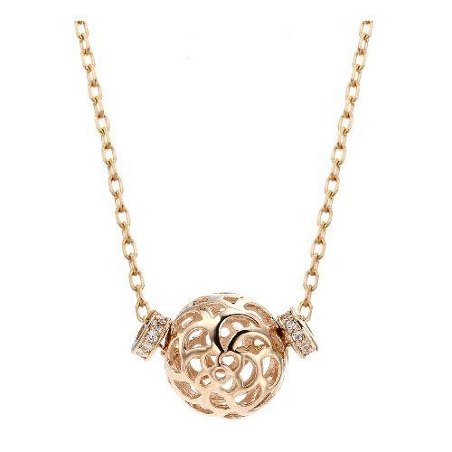 14k necklace 핑크골드 목걸이