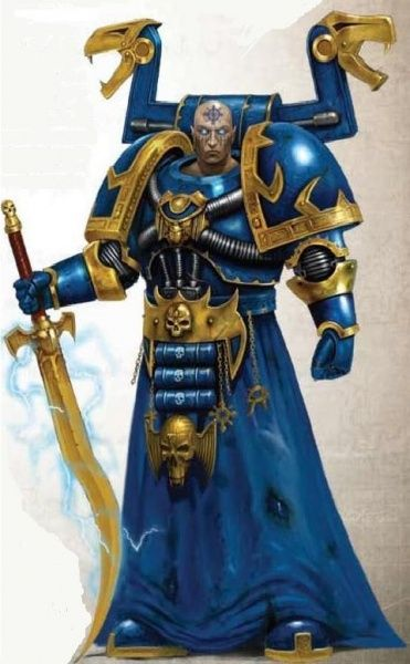 Akhor'menet has a higher purpose than the standard Chaos Sorcerer. Ever since Ahriman cast his Rubric and damned the warriors of his Legion to eternal servitude and confinement as Rubric Marines, Akhor'menet has had one all consuming goal: their freedom. He hopes to reverse the curse of the Rubric so that his brethren can fight side-by-side with his chapter once more or they can receive the eternal rest they so richly deserve.