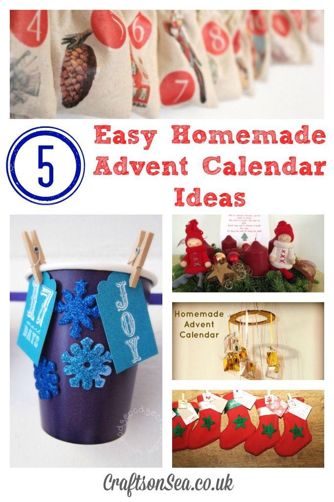 Diy Calendar Gift Ideas : Best homemade advent calendars ideas on pinterest