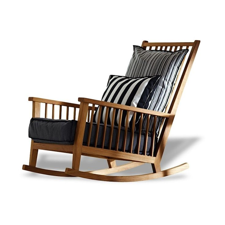 Rocking chair Gervasoni InOut by Paola Navone.
