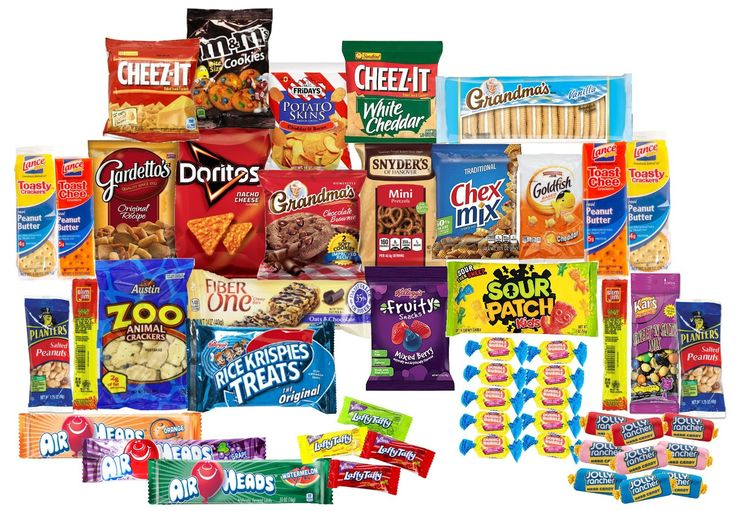 Care Package with 50 Sweet & Salty Snacks, Variety Snack