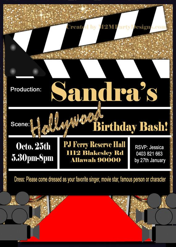 Best 25+ Movie party invitations ideas on Pinterest Movie - free printable movie ticket invitations