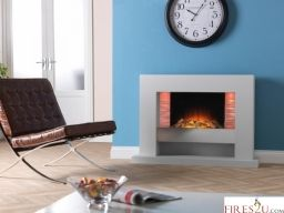 The Flamerite Vega 1150 LED electric fireplace suite is a stunning floor-standing suite that comes with 3D Radia flame picture which provides a warm and lively flame image.