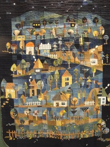 Tokyo International Quilt Festival 2011. My favorite of all time.  I wish I could live in this quilt.