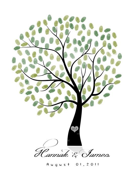 Wedding Guest Book Tree  To Be Personalized by SarusWeddingTree, $50.00