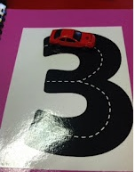 such a great idea for  young ones learning their letters/numbers!Center Ideas, Math Center Preschool, Math Centers, Letters Numb, Block Center Preschool, Kindergarten, Highway Letters, The Block, Numbers Preschool