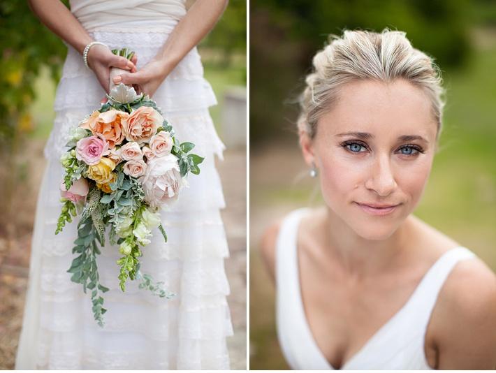 A pretty pastel wedding