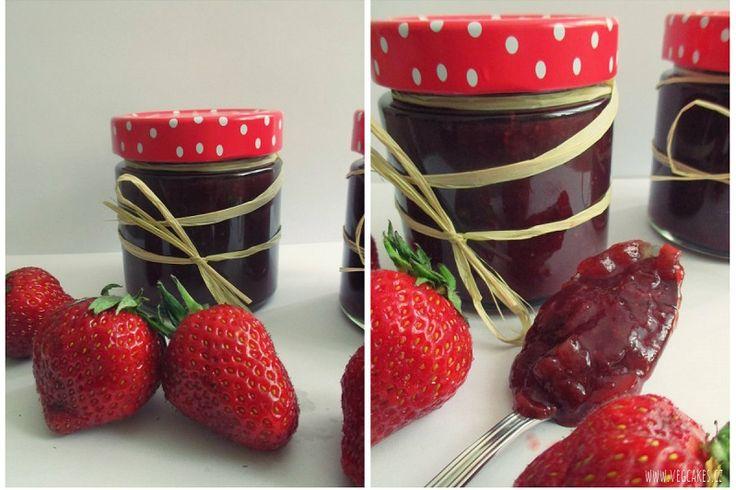 jahodovo-rebarborový džem