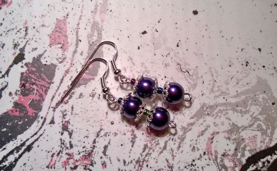 #Pearl #Earrings #Bridesmaid #JewelrySet  by @AnnasCJHM on #etsy #etsyshop #handmade #jewelry